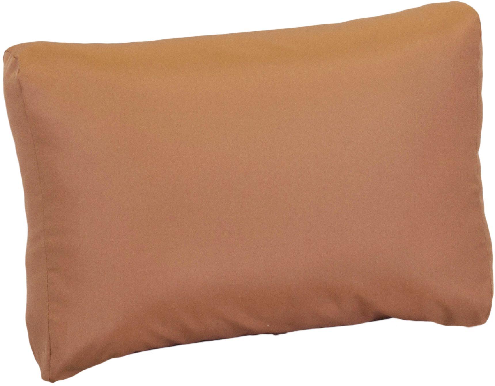 Auflage Rückenkissen für Palettensofas ca. 60 x 40 cm aus wasserabweisendem 100% Polyester in sand