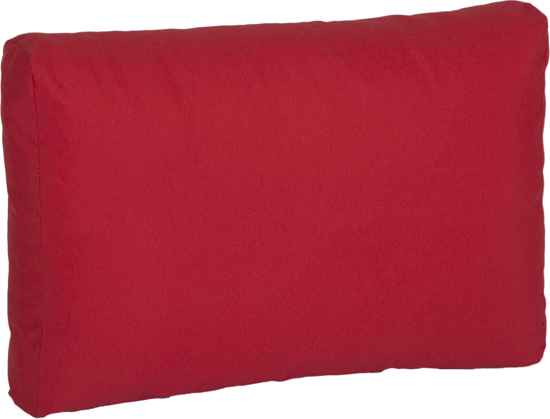 acamp Weekend Rückenkissen für Erweiterungselement rot 64 x 42 x 22 cm