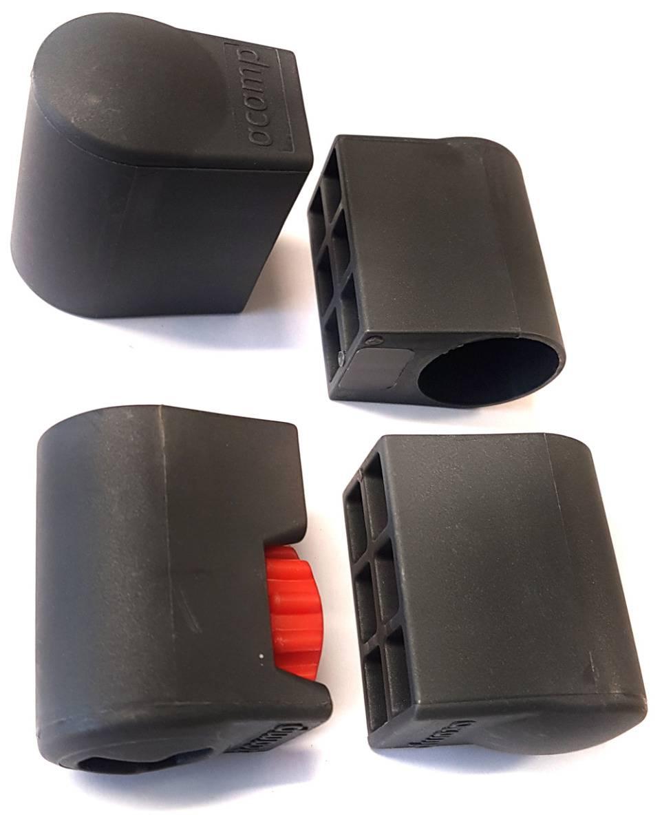 59445 acamp Piazza lábvégkupak 28 mm átmérö antracit
