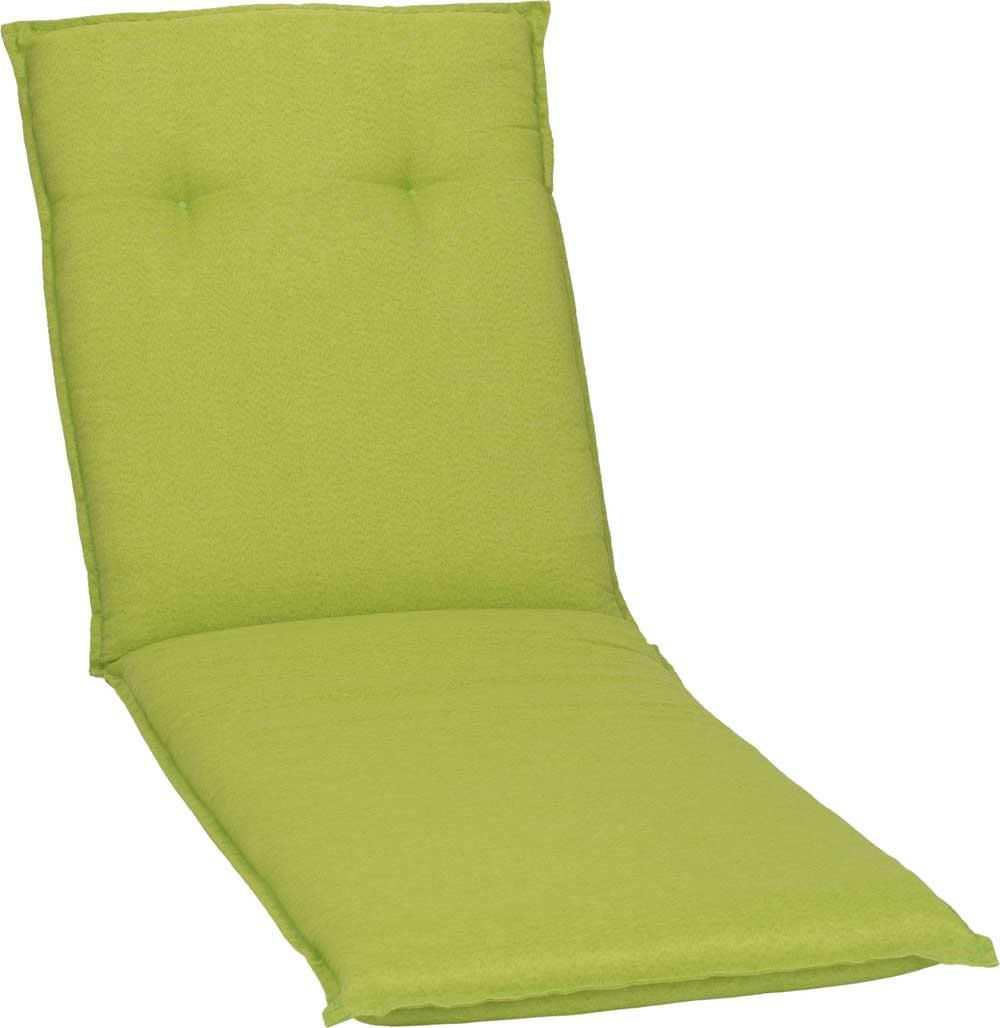 beo Gartenmöbel Auflage apfelgrün wasserabweisend für Gartenliegen AUB31