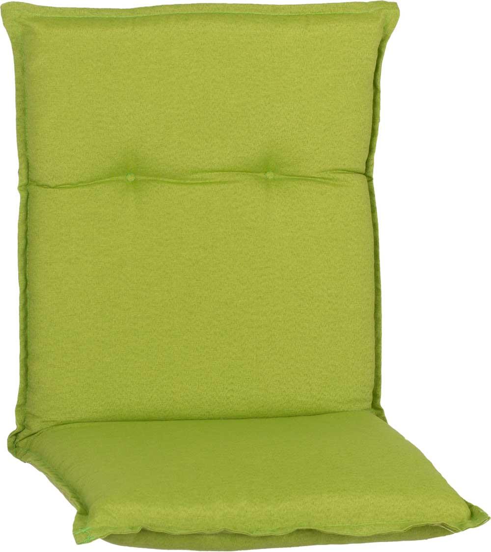 beo Gartenmöbel Auflage apfelgrün wasserabweisend für Niedriglehner AUB31