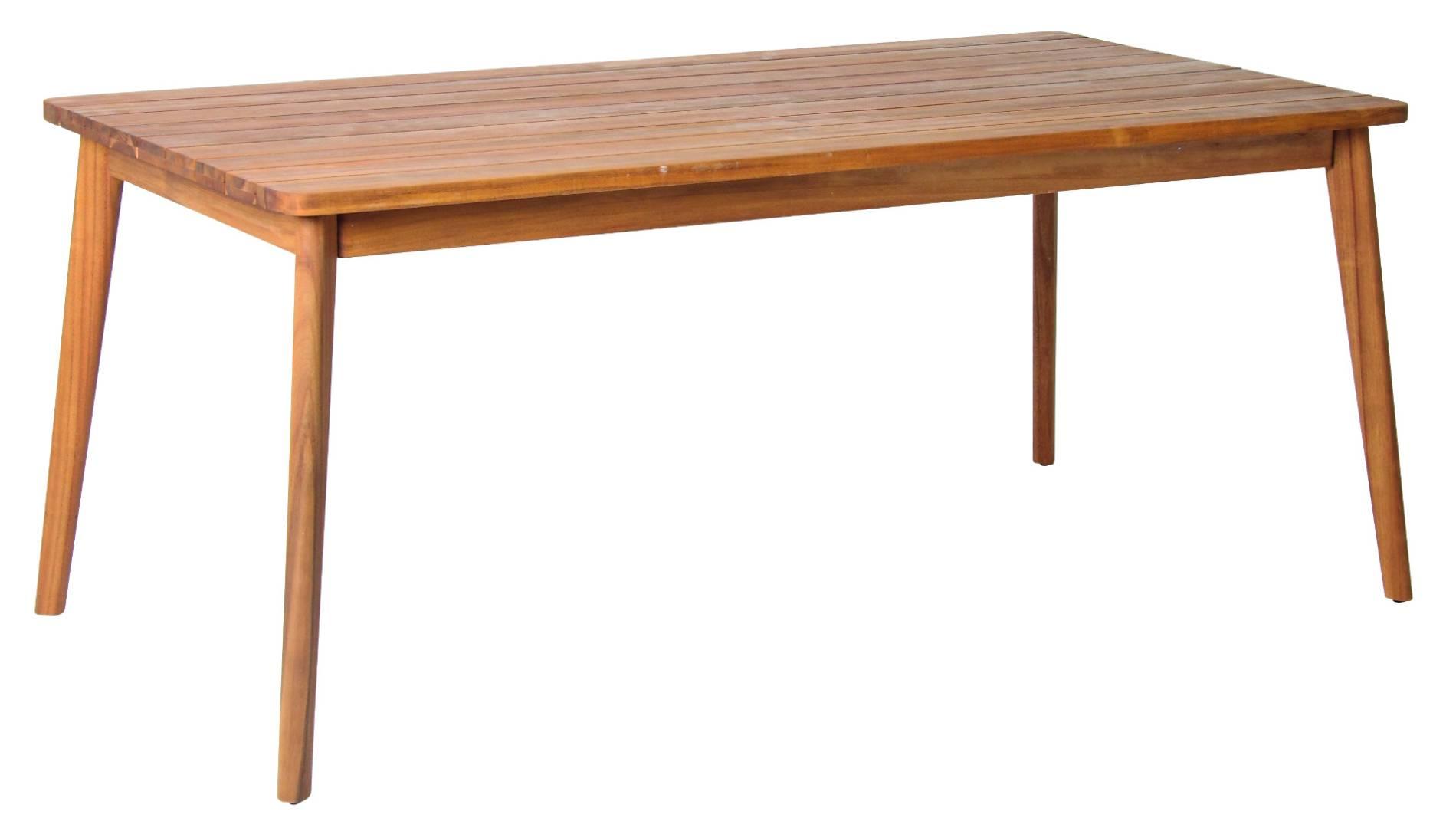 Atacama Gartentisch aus geöltem FSC Akazienholz 180x90cm