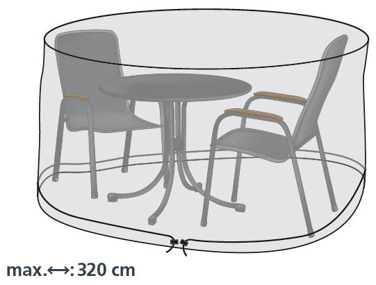 Schutzhülle für 320cm runde Sitzgruppen von beo