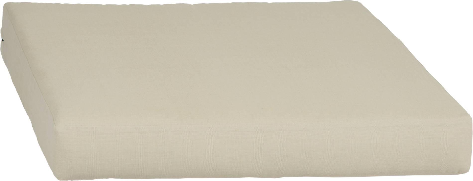 acamp Weekend Sitzkissen für Basiselement natur 70 x 70 x 8 cm
