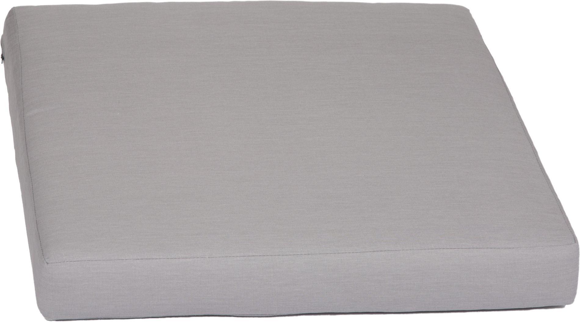 acamp Weekend Sitzkissen für Basiselement grau 70 x 70 x 8 cm