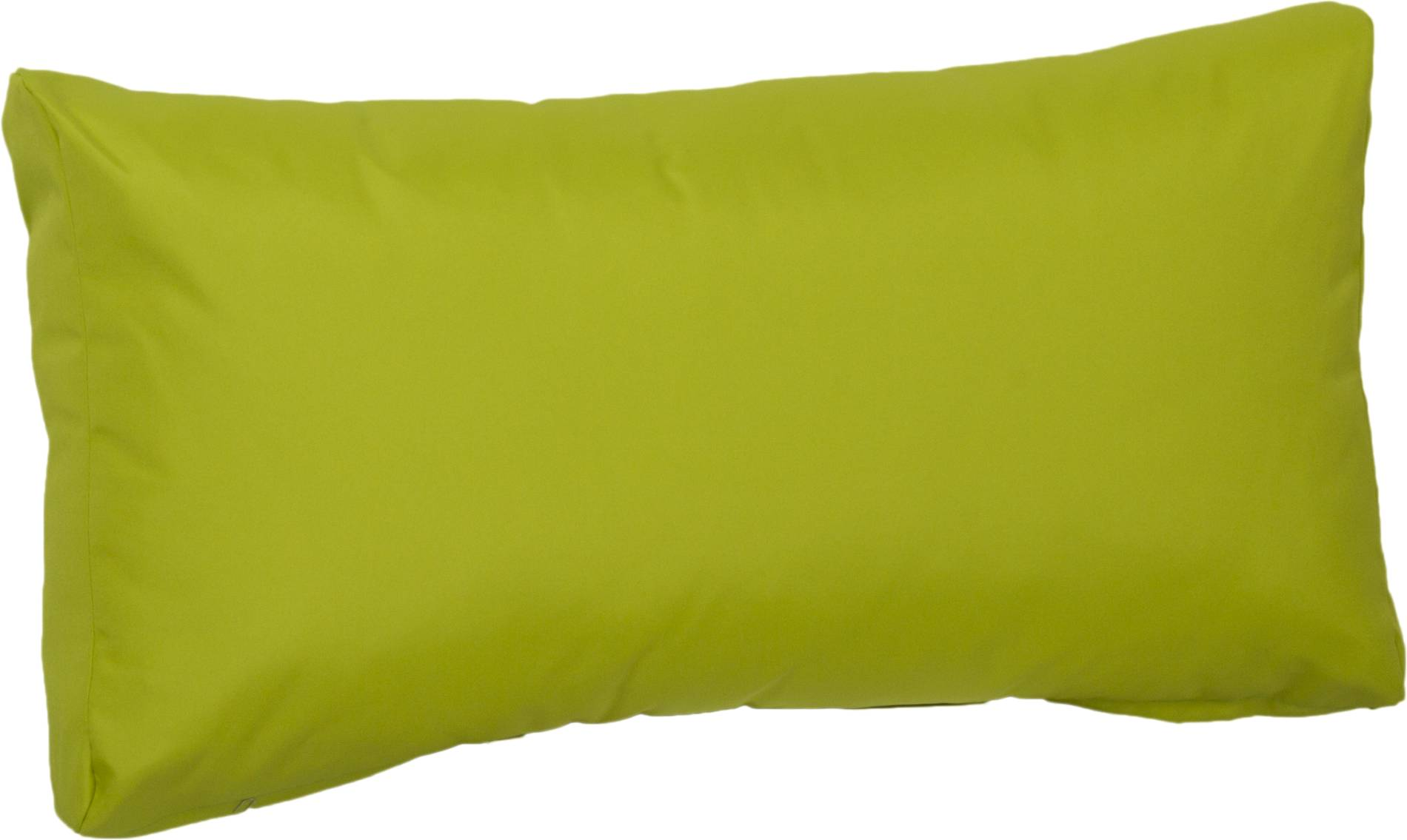 Palettenkissen für den Rückenbereich wasserabweisend ca. 70 x 40 cm in hellgrün