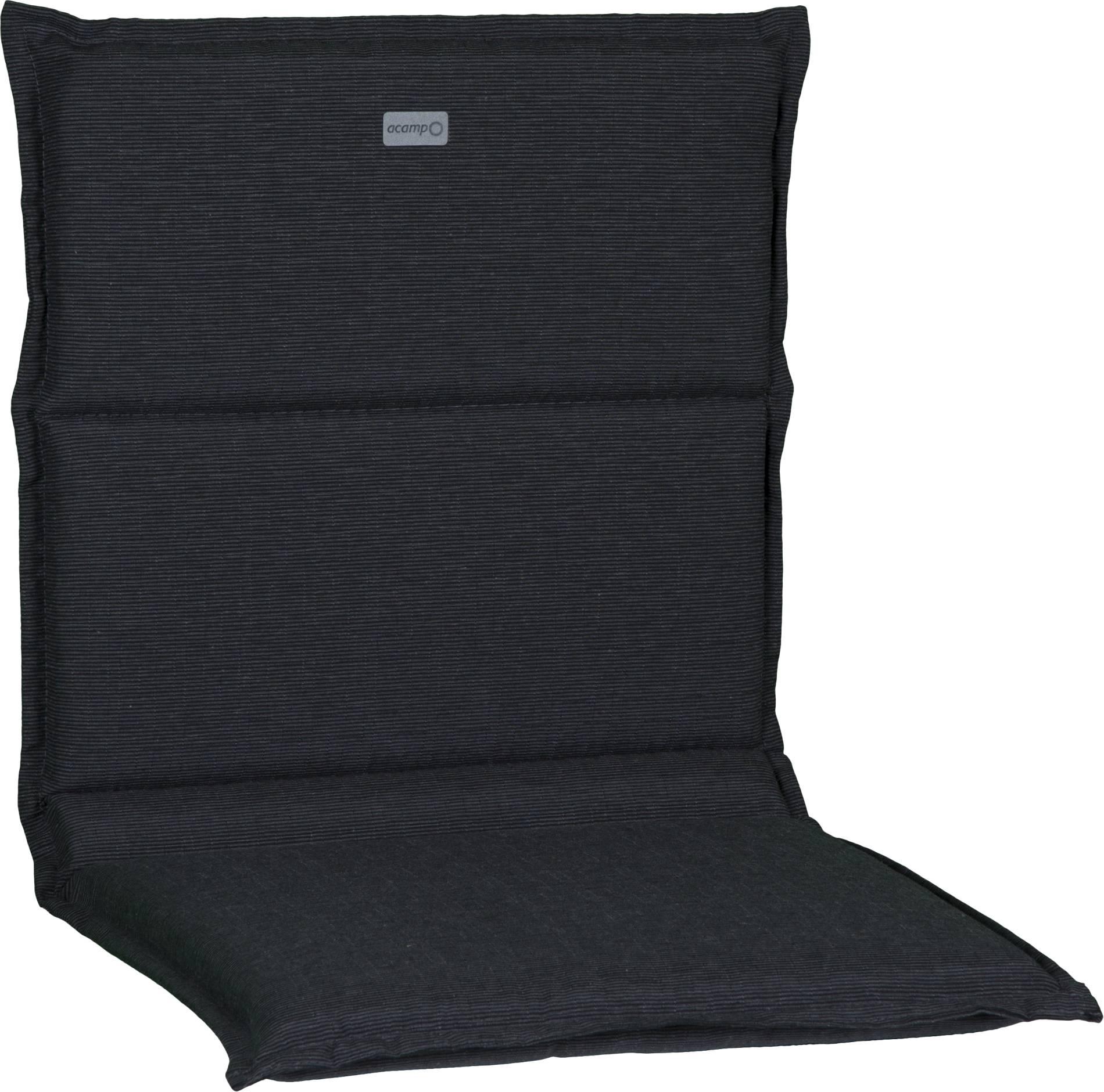 acamp Sesselkissen dunkelgrau-meliert Typ-D 93 x 45 x 4 cm passend für Serie Traunstein