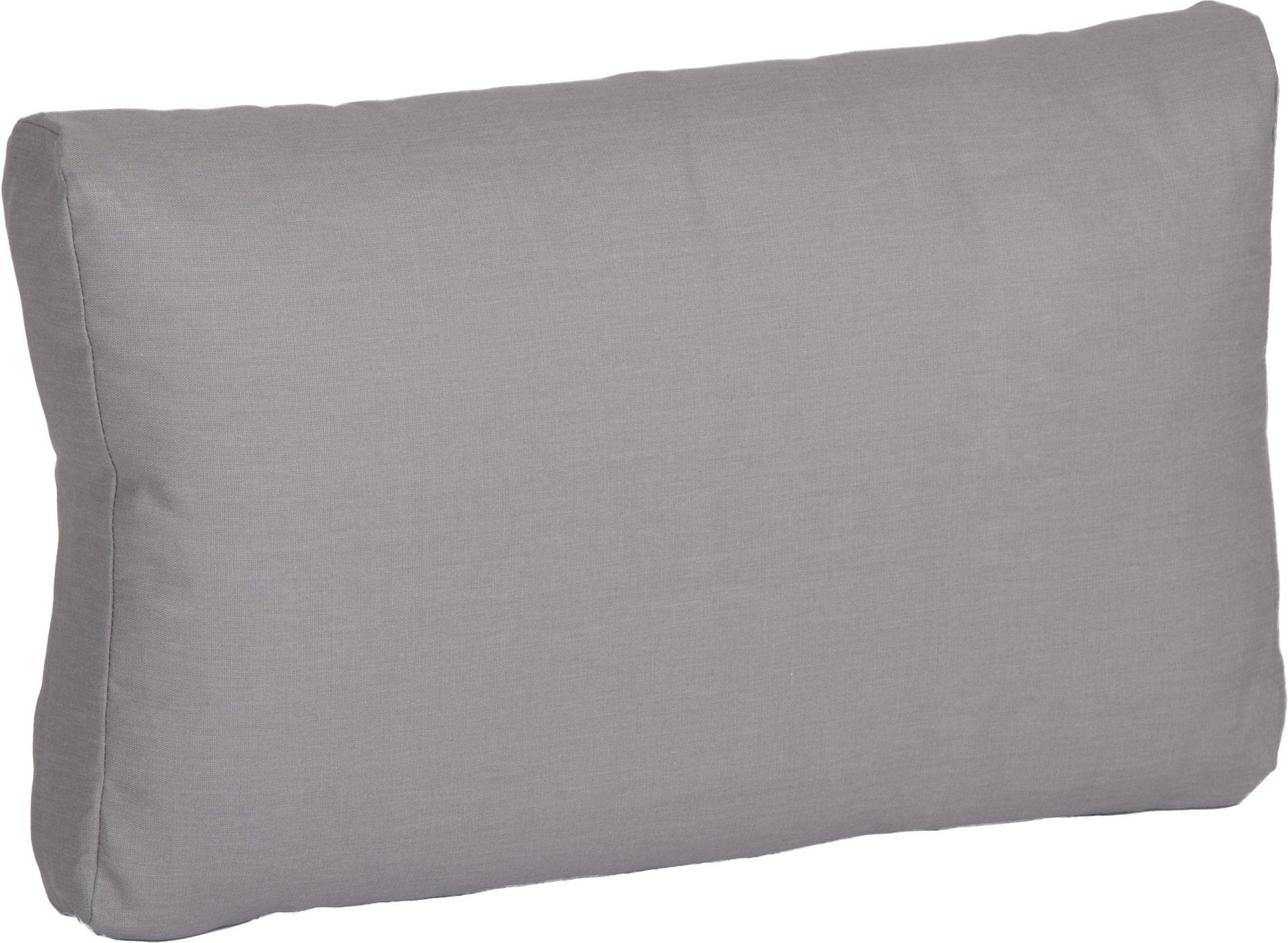 acamp Weekend Rückenkissen für Basiselement grau 70 x 42 x 22 cm