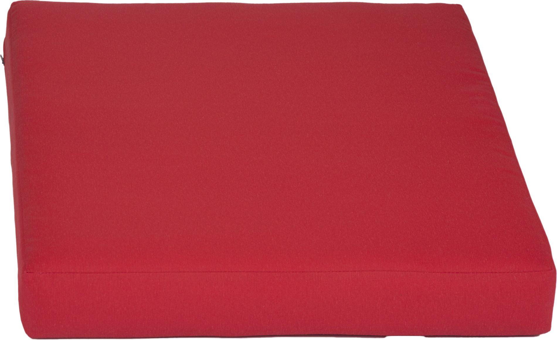 acamp Weekend Sitzkissen für Erweiterungselement rot 64 x 70 x 8 cm