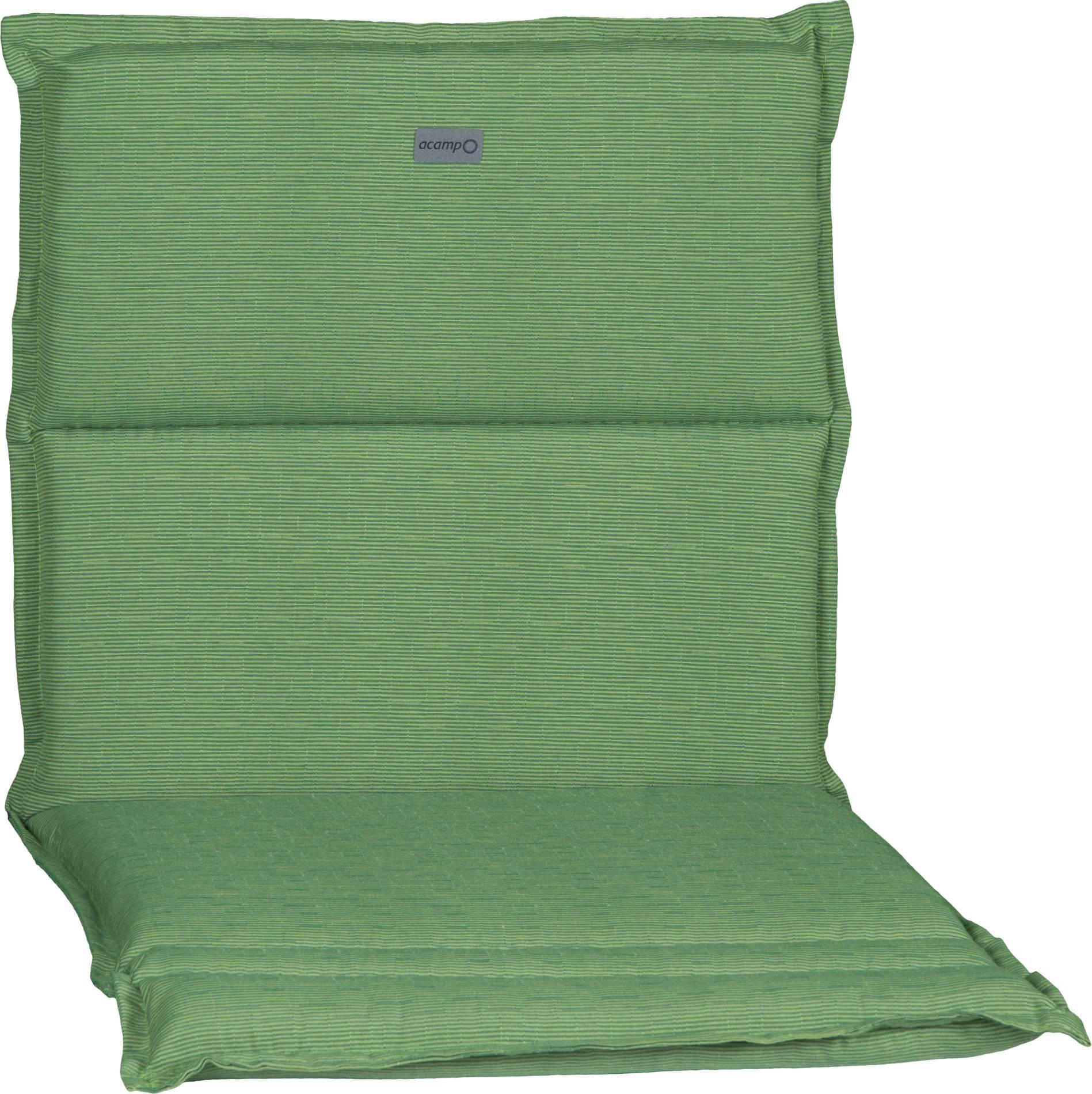 acamp Sesselkissen hellgrün Typ-B 92 x 47 x 4 cm passend für niedrige acatop und albergo Gartenstühle