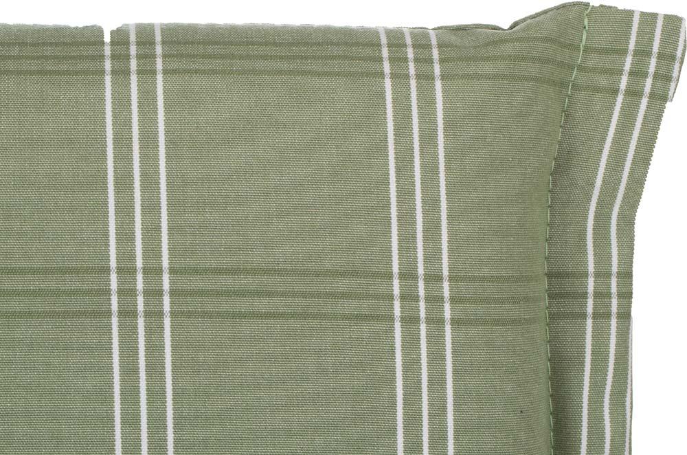 beo Gartenmöbel Auflage für Liege edel abgestimmte Grüntöne D614
