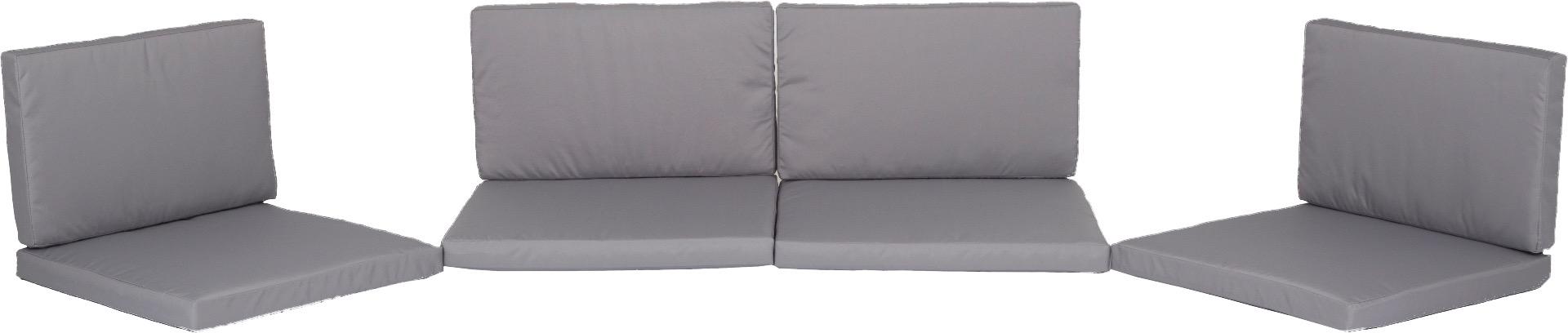 Ersatzkissen Set Lounge Gruppen Monaco in beige 100% Polyester
