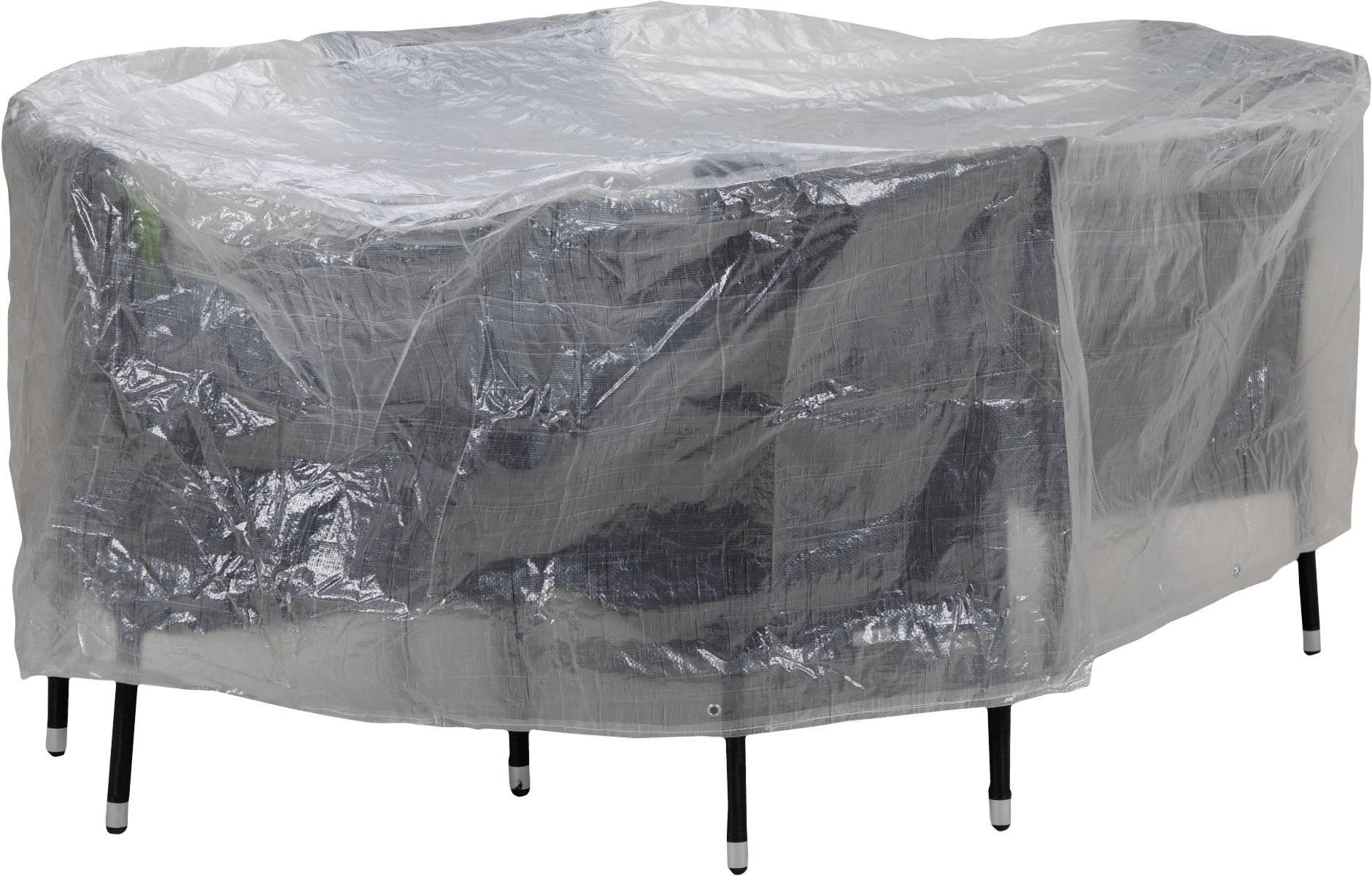 Schutzhülle für Sitzgruppen bis 180 cm ovale Form von beo