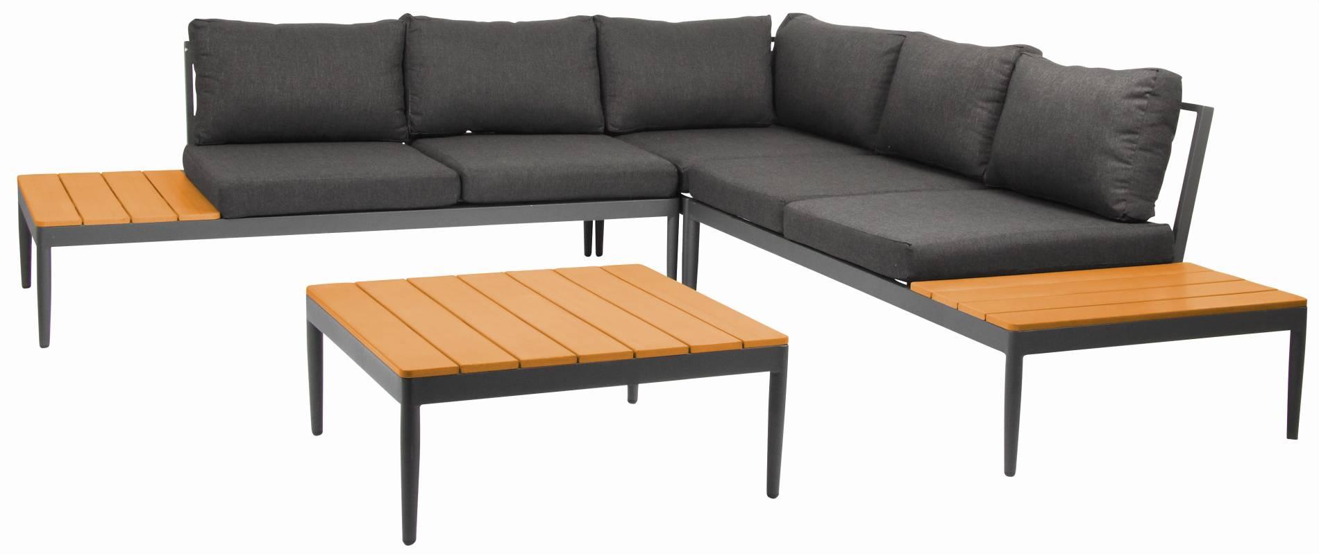 Loungegruppe Shade von acamp 4-teilig
