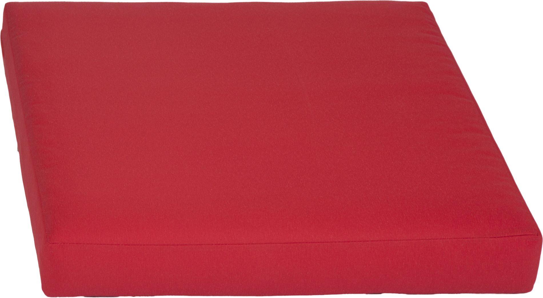 acamp Weekend Sitzkissen für Basiselement rot 70 x 70 x 8 cm