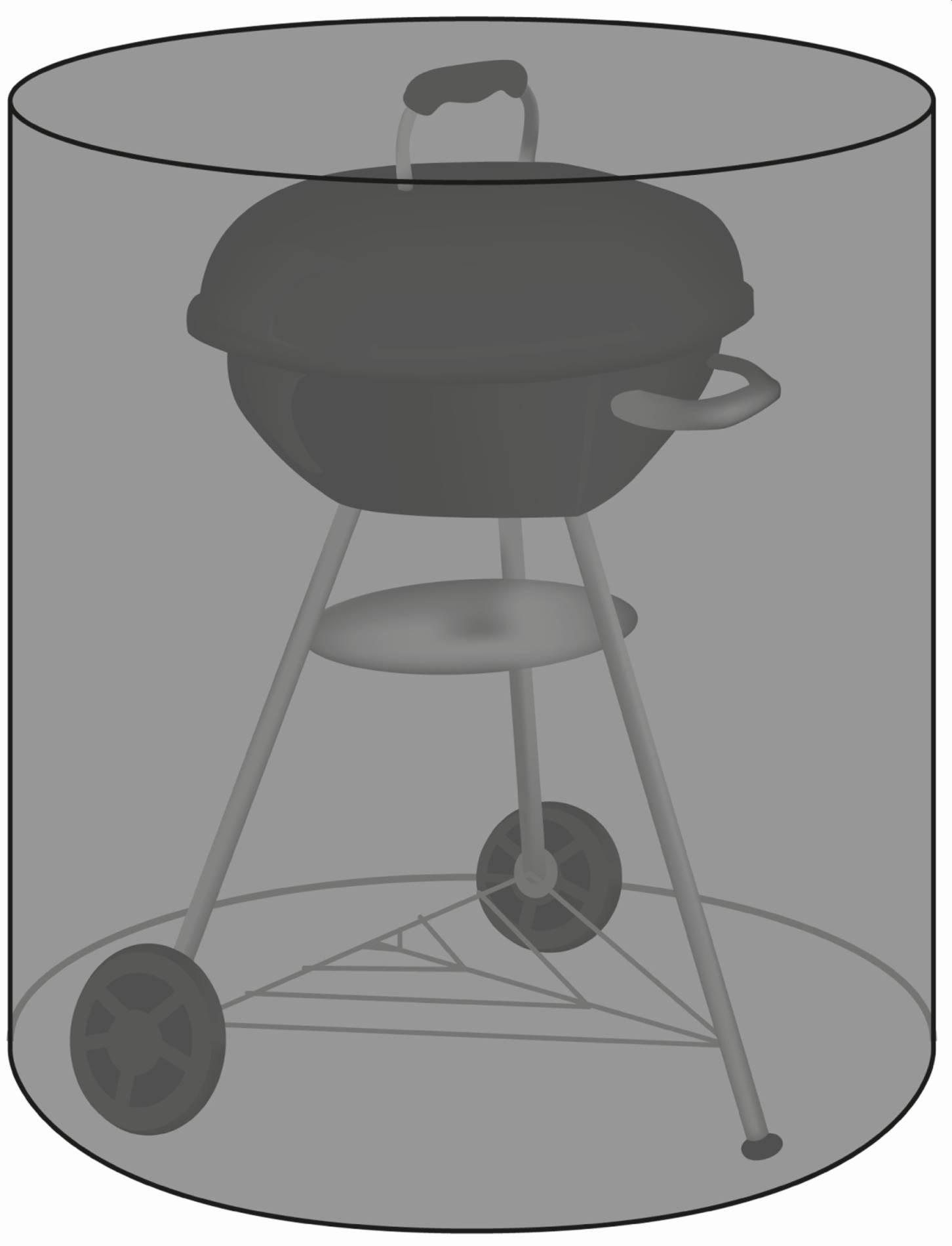 Schutzhülle für Kugelgrill 85 cm Durchmesser in schwarz von beo