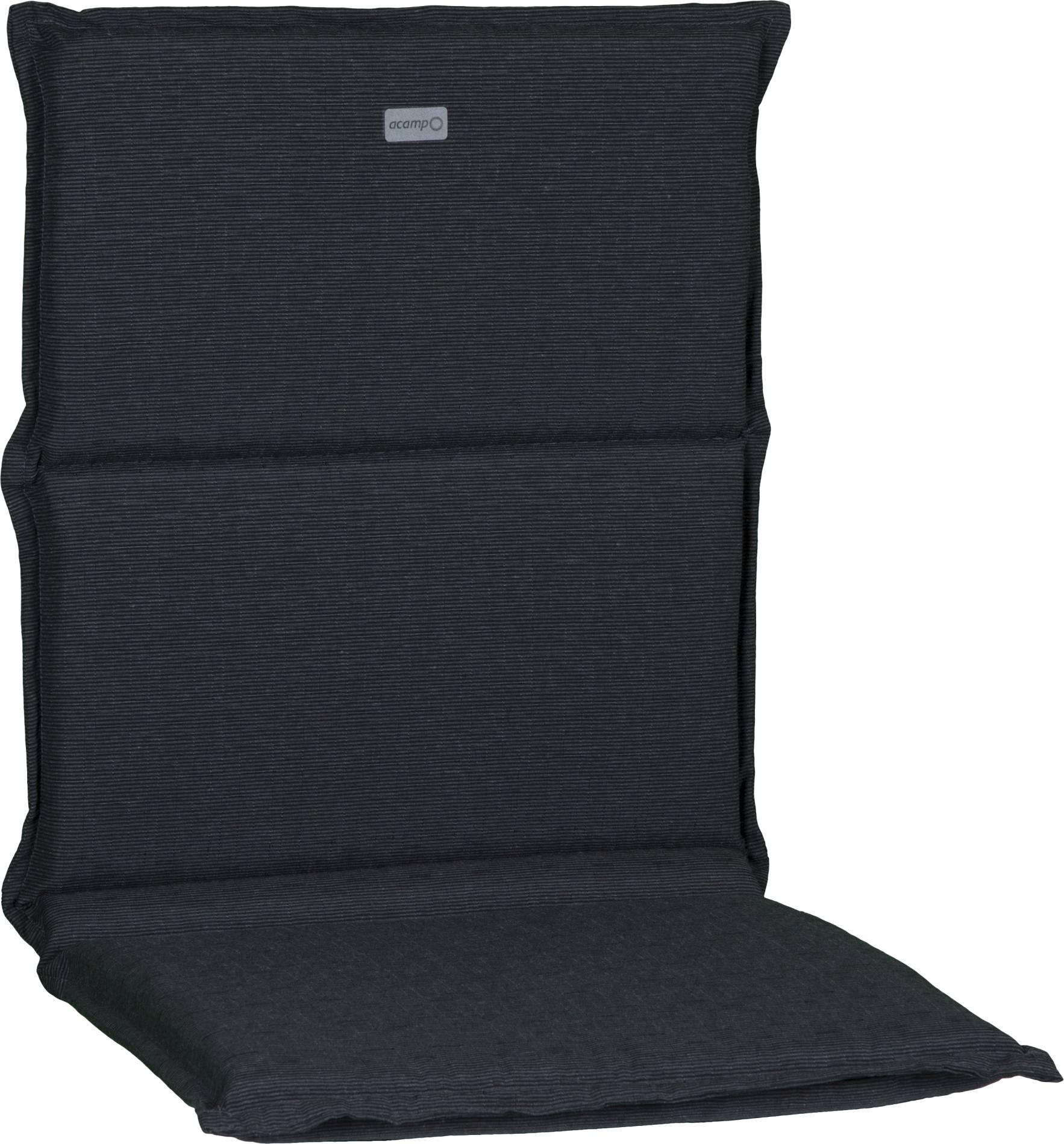 acamp Sesselkissen dunkelgrau meliert Model-A 100 x 45 x 4 cm