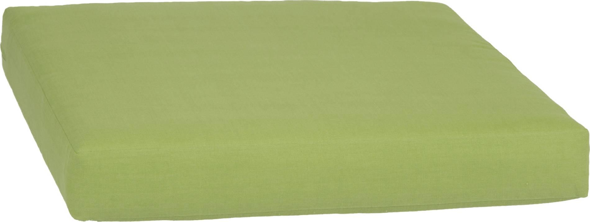 acamp Weekend Sitzkissen für Basiselement apfelgrün 70 x 70 x 8 cm