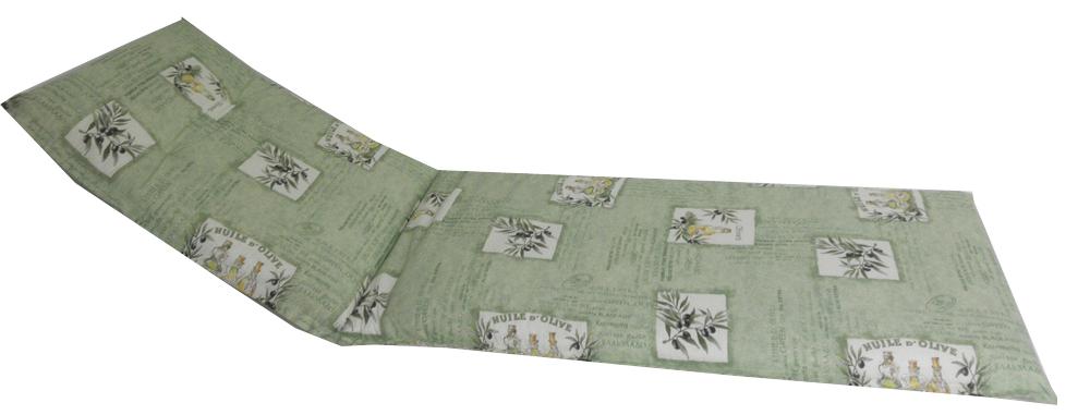 beo Gartenmöbel Auflage für Relaxstuhlkissen olivgrün BE103